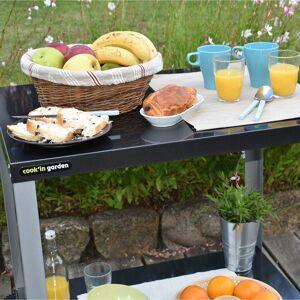 Cook'in Garden - Desserte MEDIA S pour plancha - Publicité