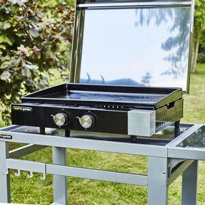 Cook'in Garden - Plancha gaz en fonte FINESTA - 2 brûleurs - Publicité