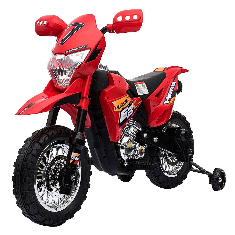 Happy Garden Motocross électrique TRAVIS - rouge