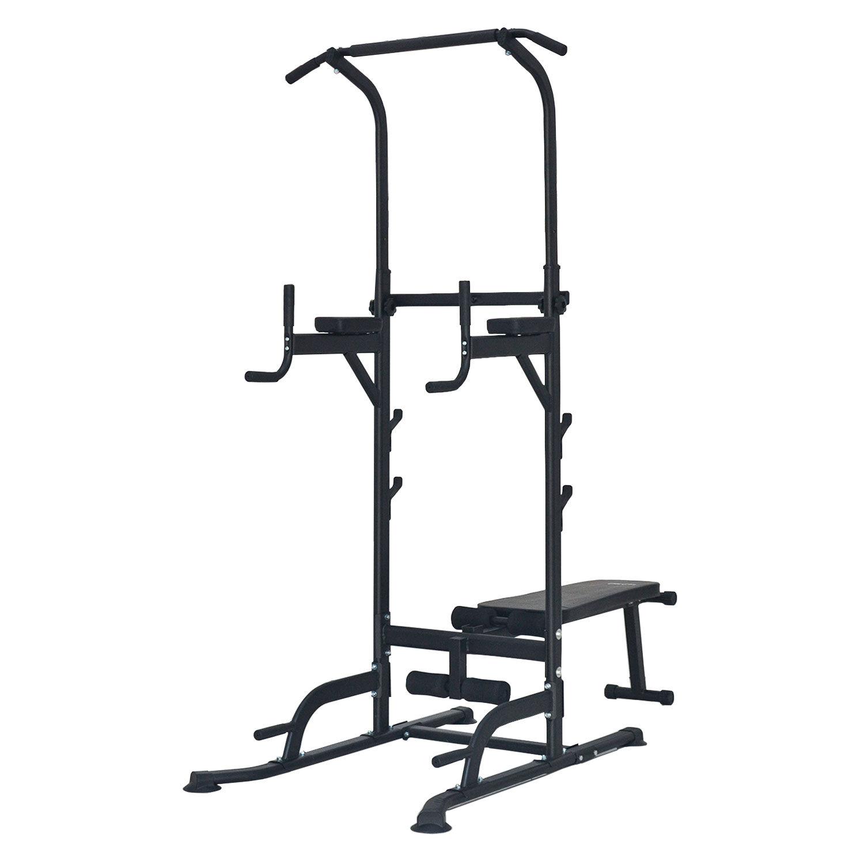 Happy Garden Chaise romaine multifonction avec banc de musculation POWER
