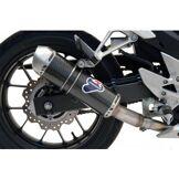 Termignoni H116080INVI - Silencieux Termignoni RELEVANCE Carbon Look HONDA CB 500 CBR 500