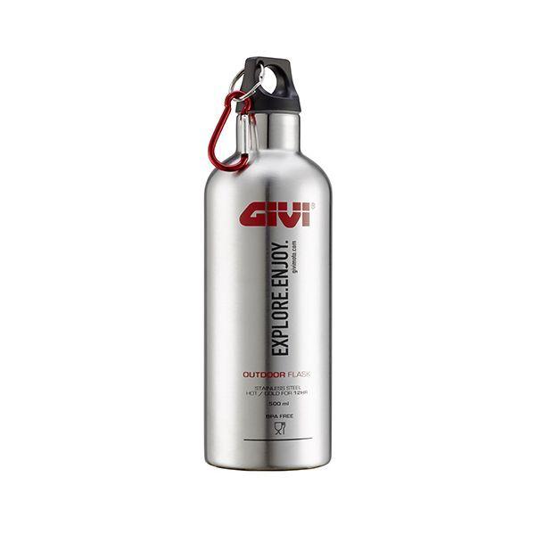 Givi STF500S - Givi Gourde thermos en acier inox pour boissons 500mL