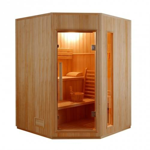 France Sauna Sauna vapeur ZEN 2 à 4 Places-Zen 3/4 Places angulaire