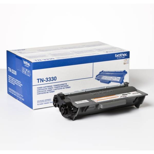 Brother D'origine Brother TN-3330 toner noir, 3 000 pages, 2,39 centimes par page - remplace Brother TN3330 toner