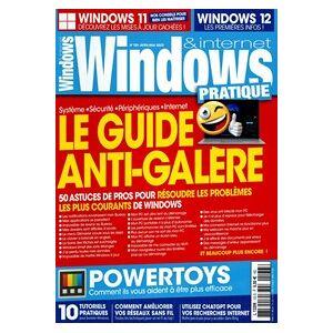 Windows & Internet Pratique - Abonnement 12 mois - Publicité