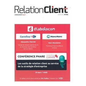 Relation Client Magazine - Abonnement 12 mois - Publicité