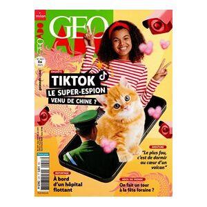 Géo Ado - Abonnement 12 mois - Publicité