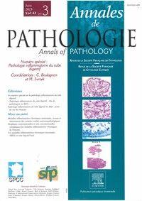 Annales de Pathologie - Abonnement 12 mois
