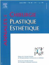 Annales de Chirurgie Plastique et Esthétique - Abonnement 12 mois