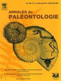 Annales de Paléontologie - Abonnement 12 mois