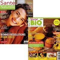 Vivre Bio + Santé Naturelle - Abonnement 12 mois