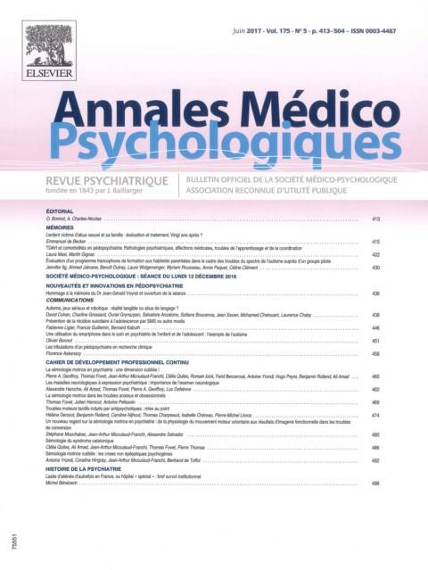 Annales médico-psychologiques
