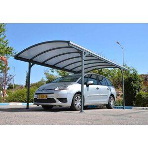 Chalêt-Jardin Carport Aluminium Delage (290x499x240cm) - Publicité