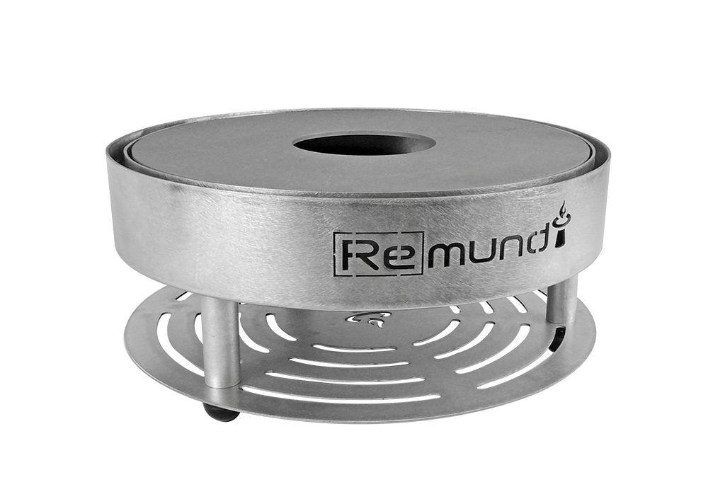 Remundi Braséro Barbecue de Table en Acier et Inox Ø39 cm – Pirus