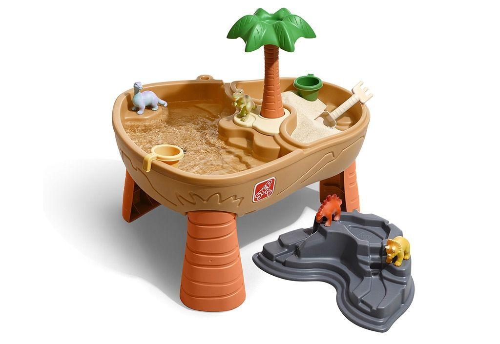 Step2 Table d'Activités Enfant Jeux d'Eau et de Sable Dinosaures