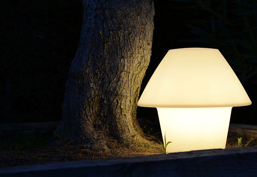 Faro Lampe de Table Blanche sur Secteur