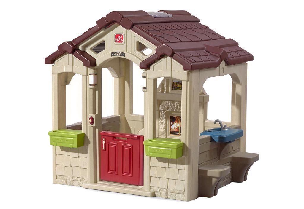 Step2 Cabane de Jardin Enfant en Plastique - Maison de Charme Style Cottage