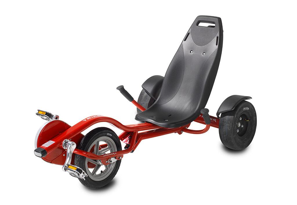 Exit Toys Tricycle Couché pour Enfant Trike Pro 100 Rouge