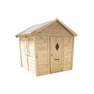 Soulet Cabane Maison Enfant en Bois Brut Pauline - Publicité