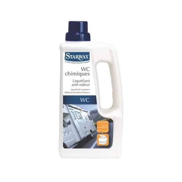 STARWAX Liquéfiant anti-odeur WC chimique Starwax