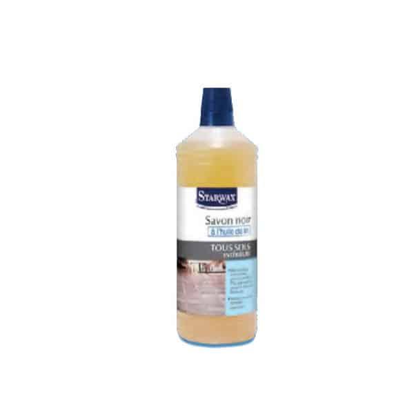 STARWAX Savon noir à l'huile de lin