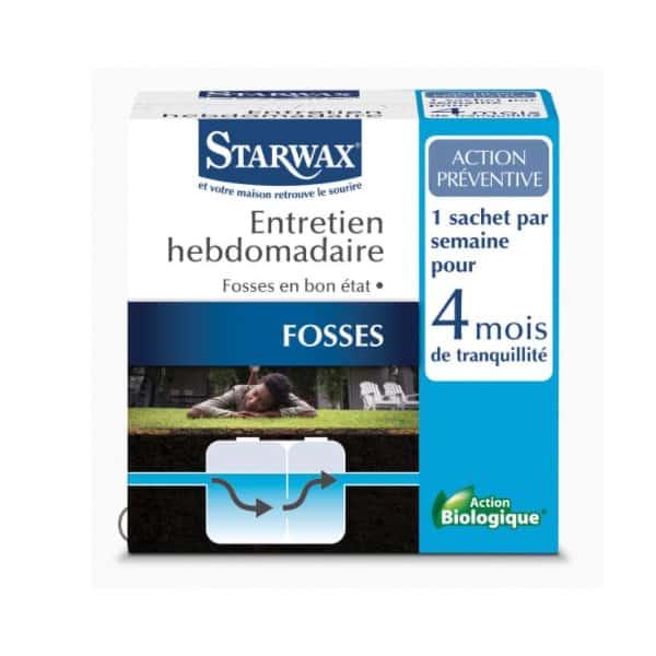 STARWAX Entretien hebdomadaire fosses Starwax