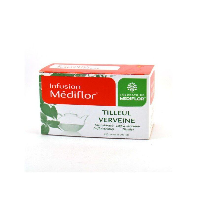 Merck médication familiale Médiflor Infusions tilleul & verveine - 24 sachets