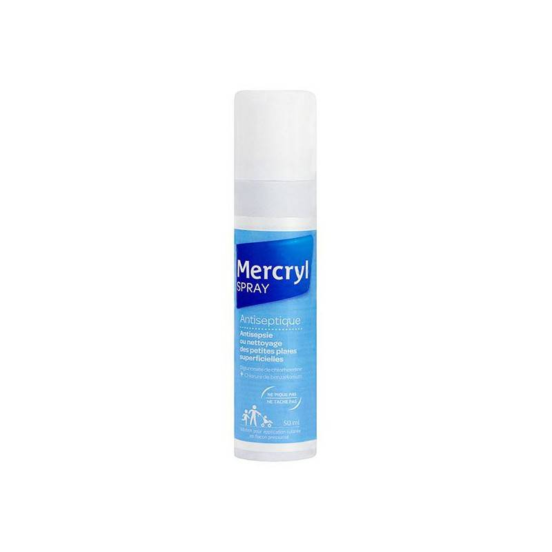 Ménarini Mercryl Spray antiseptique - 50ml