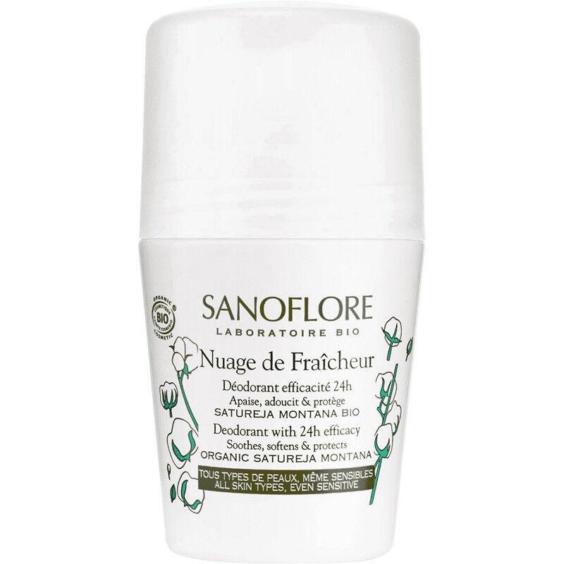 Sanoflore Nuage de Fraîcheur Déodorant efficacité 24h Bio - 50ml