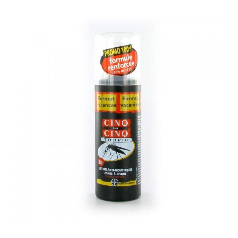 Cinq sur Cinq spray anti-moustiques Tropic 100ml
