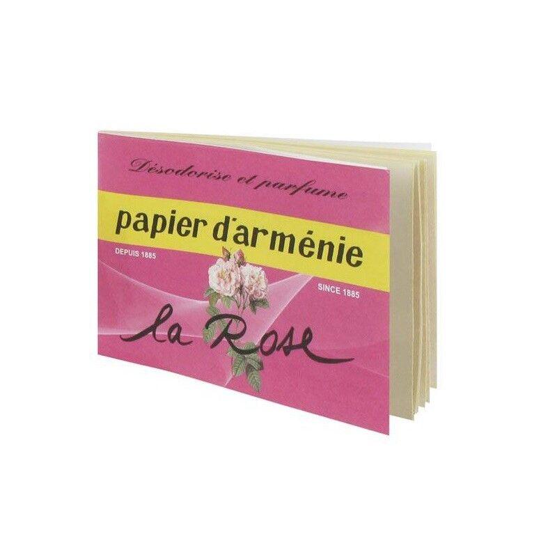 Pharm'up Papier d'Arménie Carnet La Rose