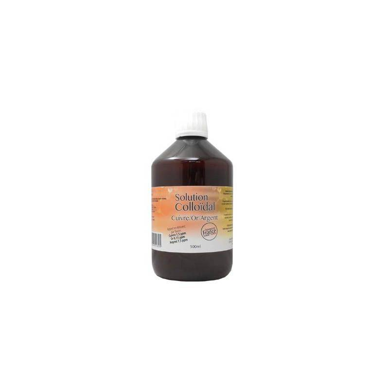 Dr. Theiss Naturwaren Dr.Theiss Solution Colloidal Cuivre or Argent 500ml
