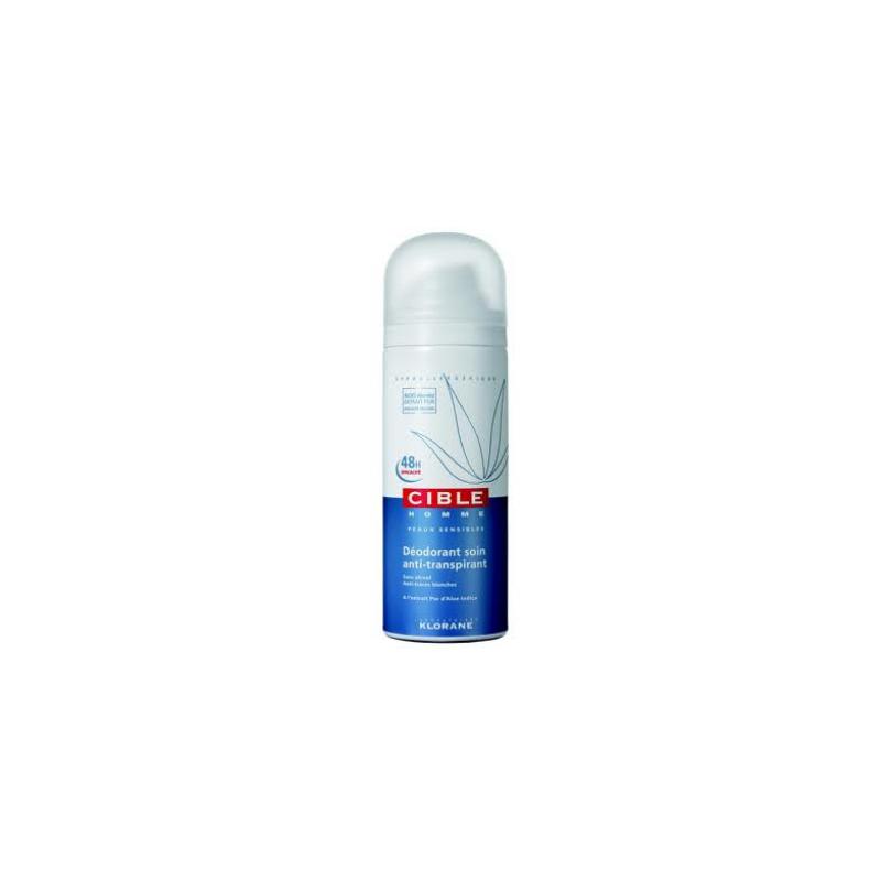 Klorane Cible homme Déodorant soin anti-transpirant 150 ml