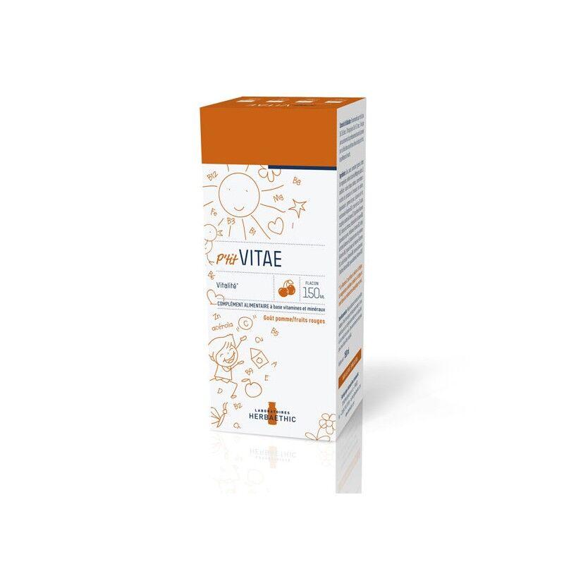 Herbaethic P'tit vitae goût pomme/fruits rouges - 150ml