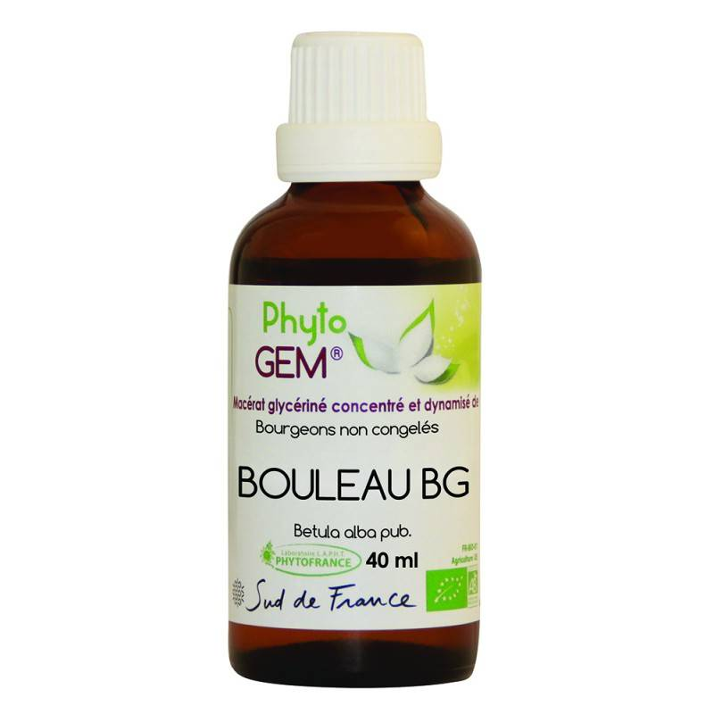 Phytofrance Phyto'gem Bourgeons de Bouleau BG Bio - 40ml