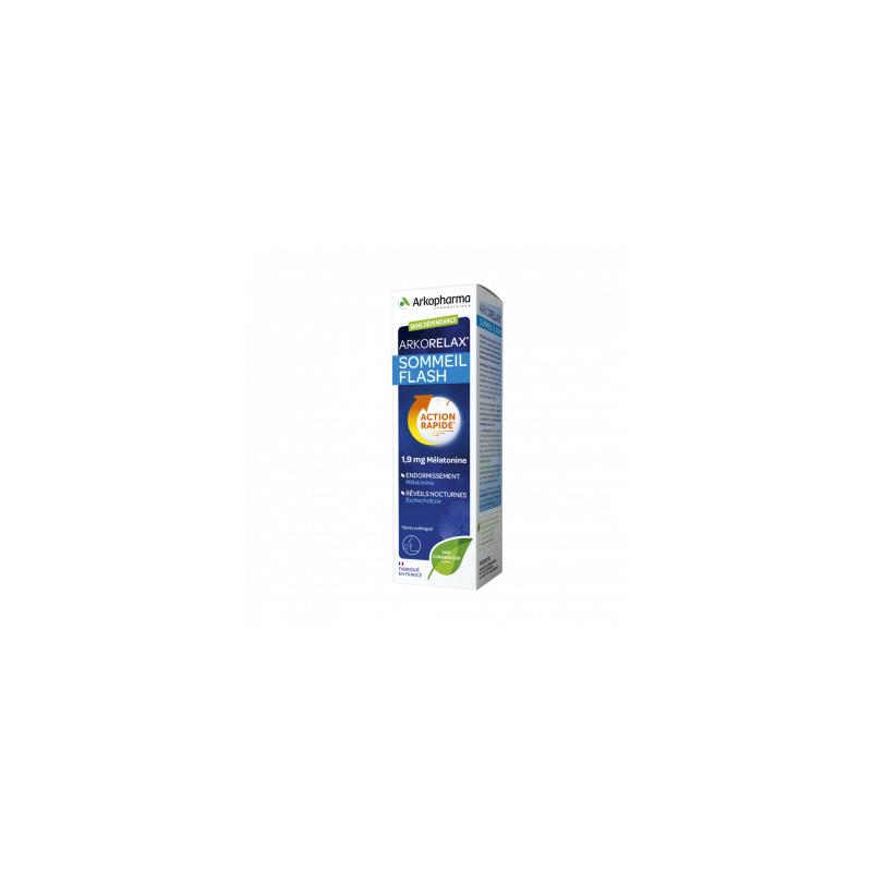 Arkopharma Arkorelax sommeil flash 1.9 mg mélatonine spray  20 ml
