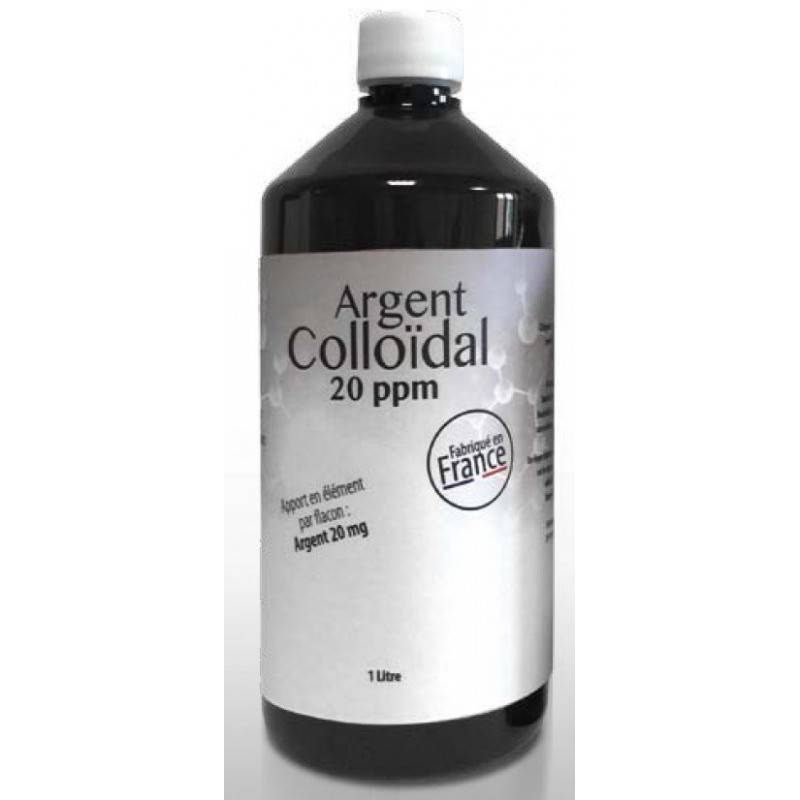 Dr. Theiss Naturwaren Argent Colloïdal 20 ppm 1 Litre