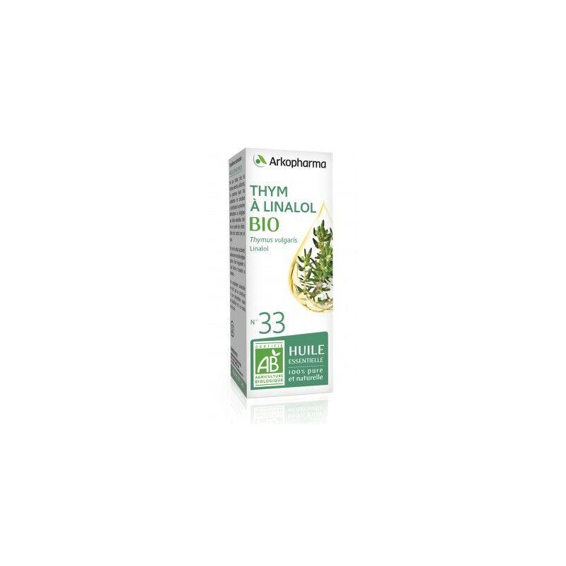 Arkopharma Huile essentielle Thym à linalol bio