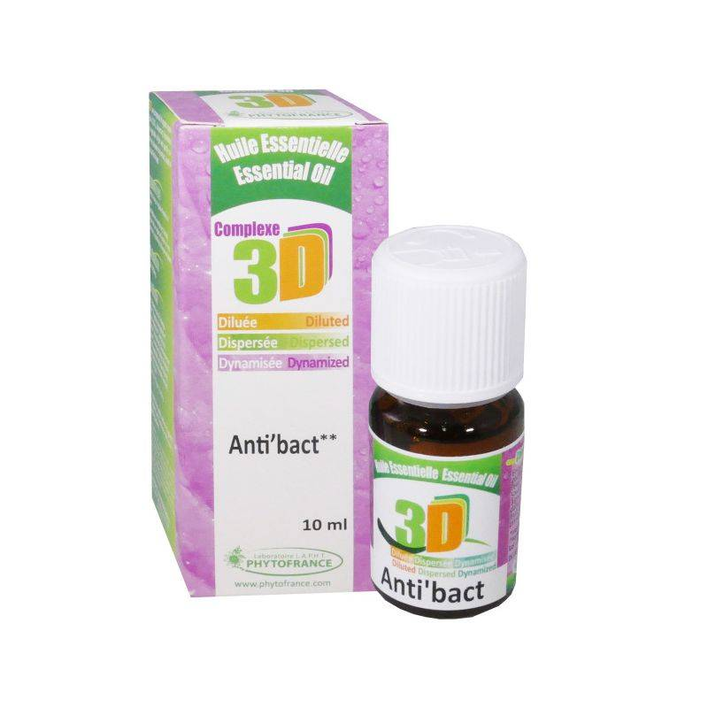 Phytofrance Huile essentielle 3D Anti Bact 10ml