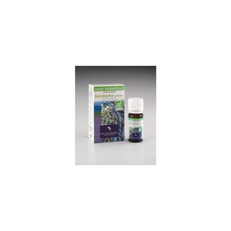 Valnet eucalyptus globulus huile essentielle  bio Valnet 10ml