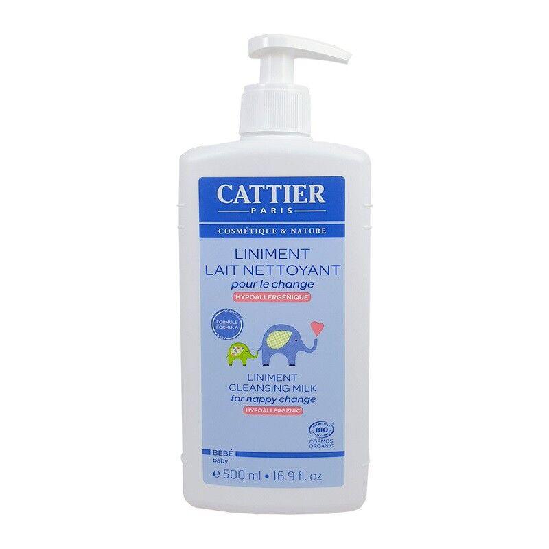 Cattier bébé Liniment lait nettoyant - 500ml