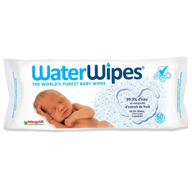 Water Wipes 60 lingettes