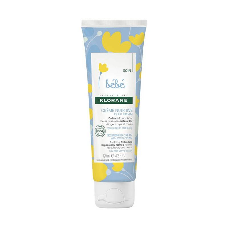 Klorane bébé Crème nutritive au Cold Cream - 125ml