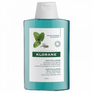 Klorane Shampooing anti-pollution à la menthe aquatique - 200 ml - Publicité