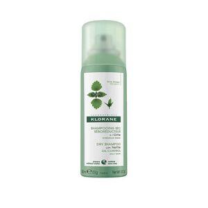 Klorane Shampoing sec sébo-régulateur à l'ortie - 50ml - Publicité