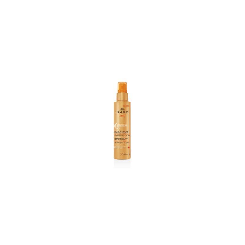 Nuxe sun huile lactee capillaire 100ml