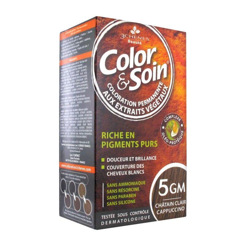 Les 3 Chênes Color & Soin châtain clair cappuccino 5GM
