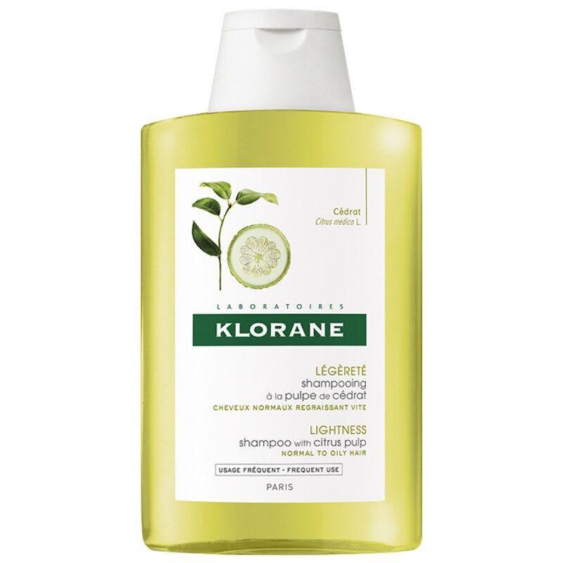 Klorane shampoing à la pulpe de cédrat - 200ml
