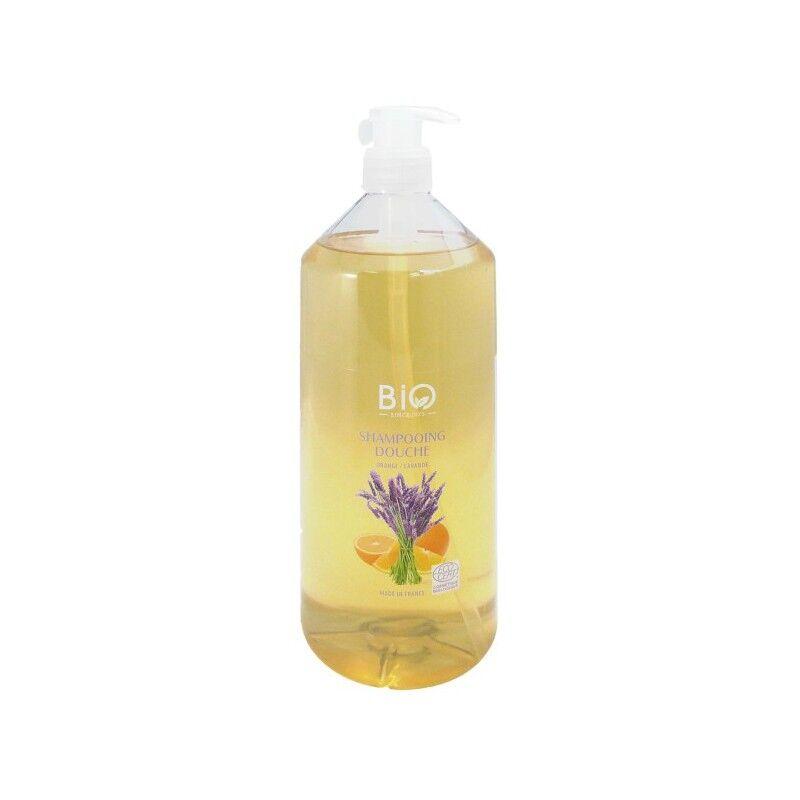 Gravier shampooing douche orange lavande bio 1L