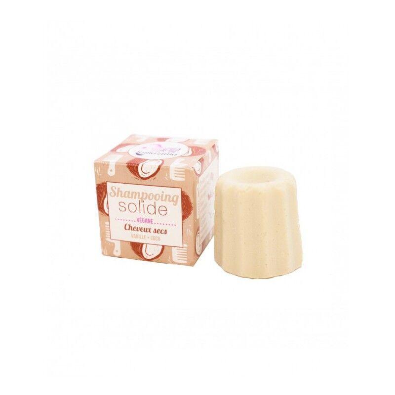 Lamazuna shampooing solide cheveux secs vanille/coco 55g
